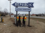 Republic Sign Toby Preacht and Nathan Osborne with Pinnacle Sign 2-20-2013 (2)